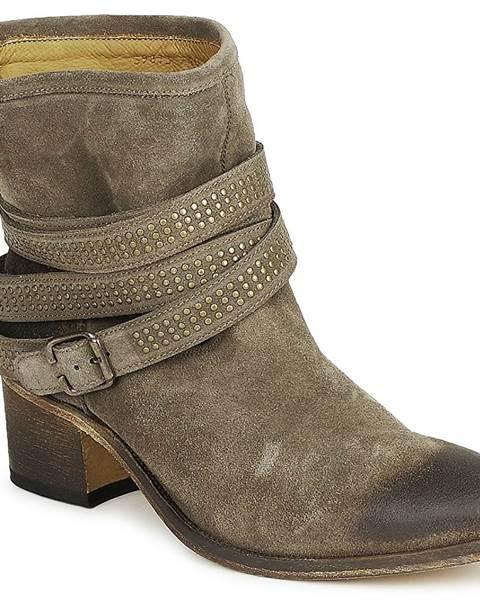 Hnedé topánky Atelier Voisin