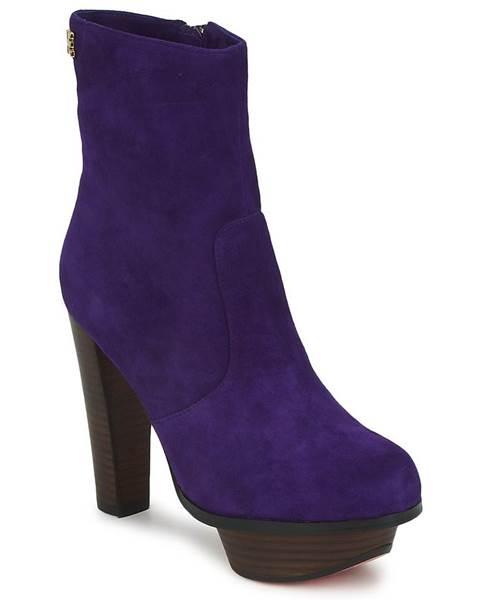 Fialové topánky Edith   Ella