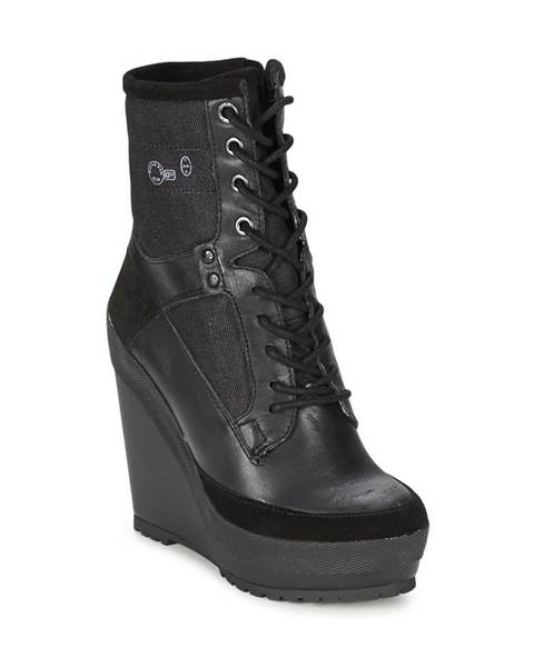 Čierne topánky G-Star Raw
