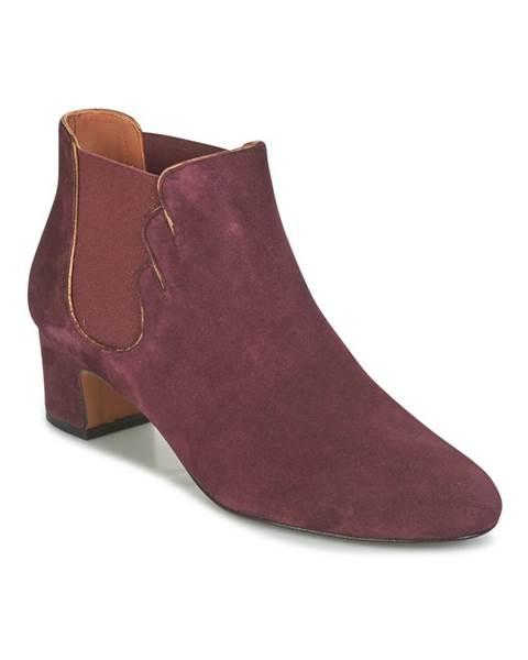 Bordové topánky Heyraud