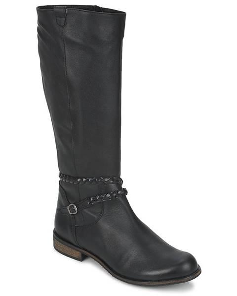 Čierne čižmy So Size