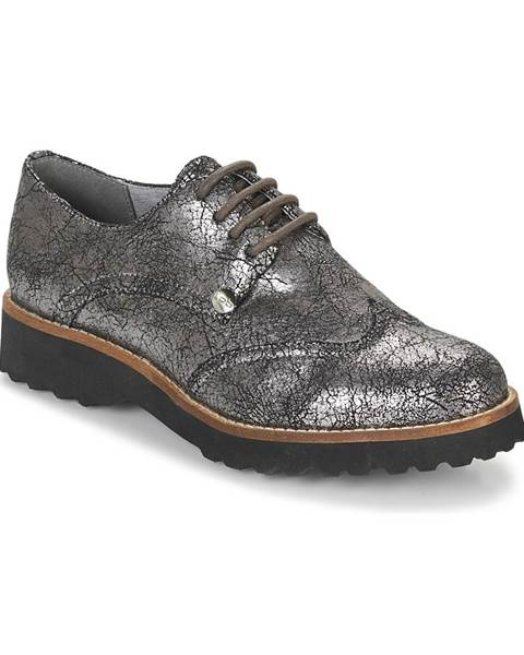 Strieborné topánky LPB Shoes