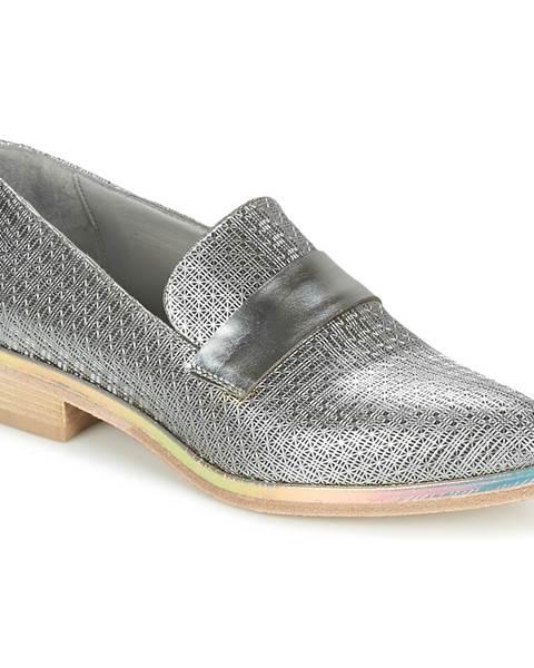 Strieborné topánky Now