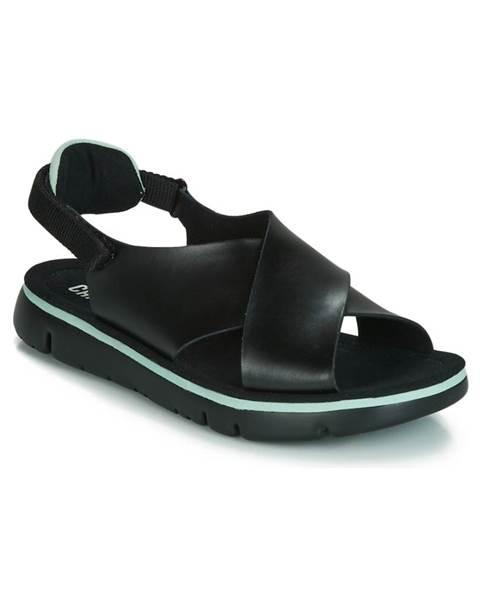 Čierne sandále Camper