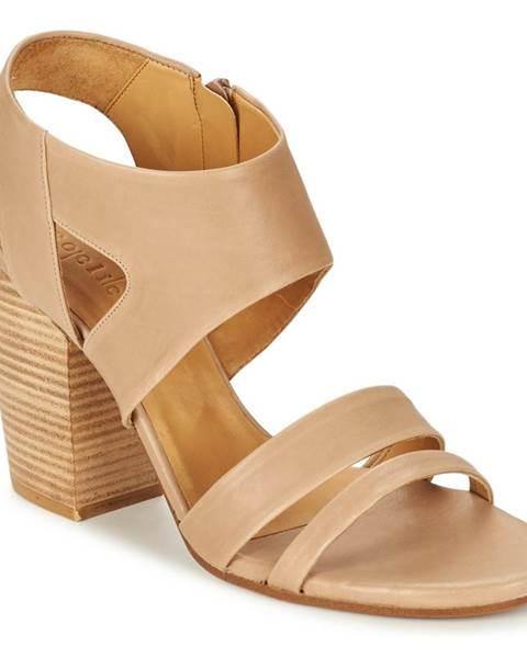 Béžové sandále Coclico