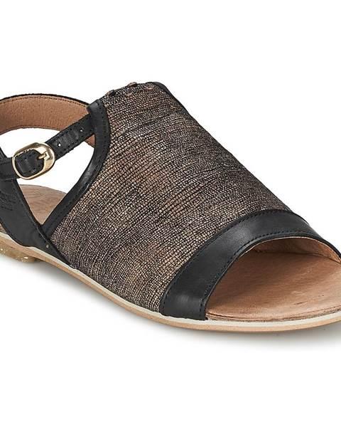 Čierne sandále Coqueterra