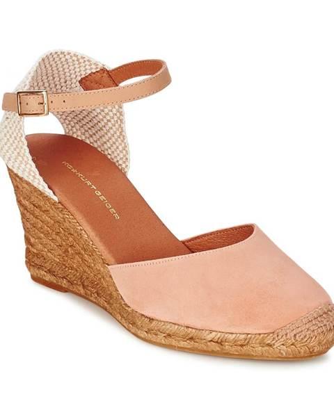 Oranžové sandále KG by Kurt Geiger