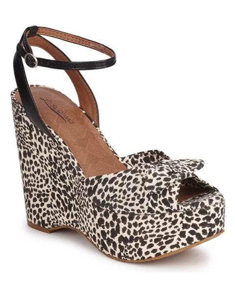 Čierne sandále Lucky Brand