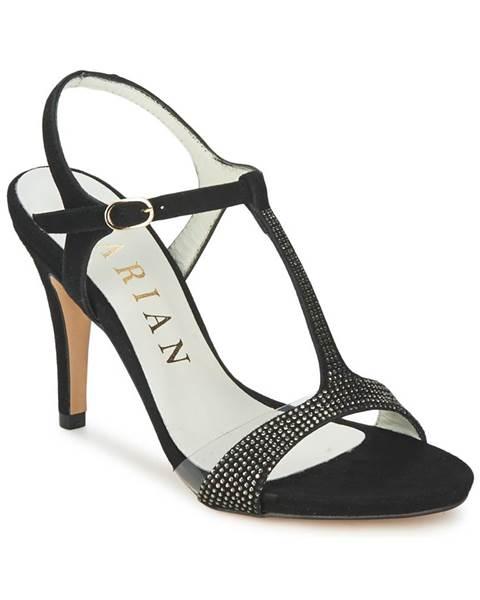 Čierne sandále Marian