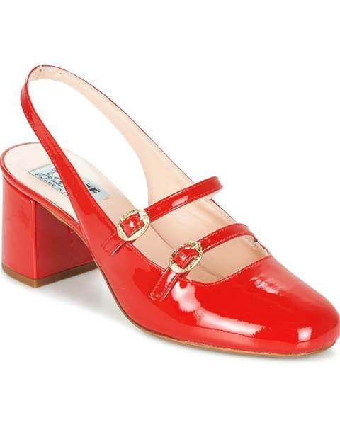 Červené sandále Miss L'Fire