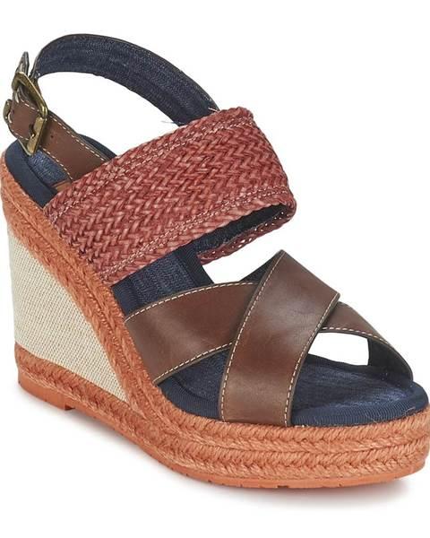Hnedé sandále Napapijri