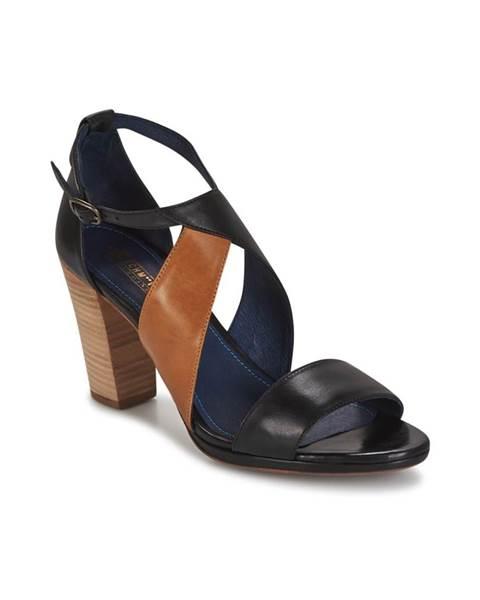 Čierne sandále Schmoove