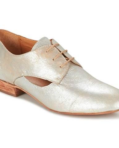 Strieborné topánky Un Matin d'Ete
