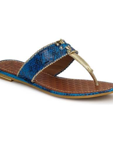 Modré sandále Juicy Couture