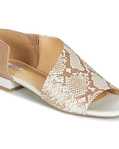 Béžové sandále Geox