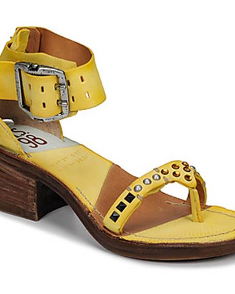 Žlté sandále Airstep / A.S.98