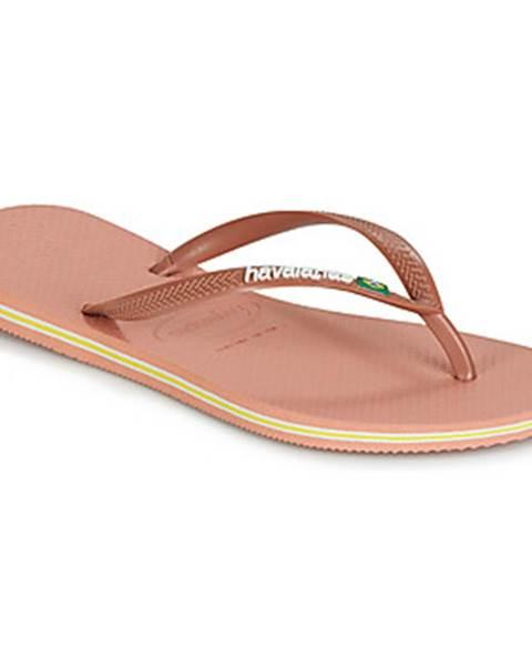 Ružové topánky Havaianas