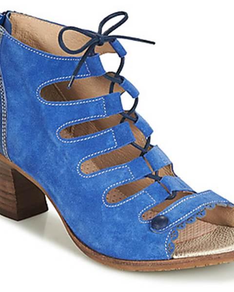 Modré sandále Casta