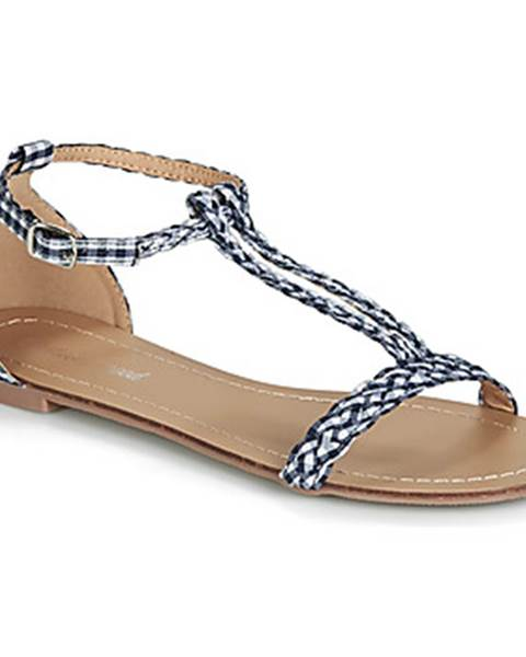 Modré sandále Moony Mood