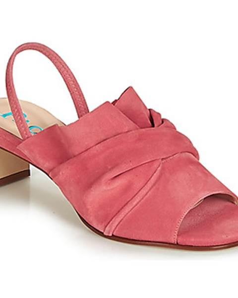 Ružové sandále Paco Gil