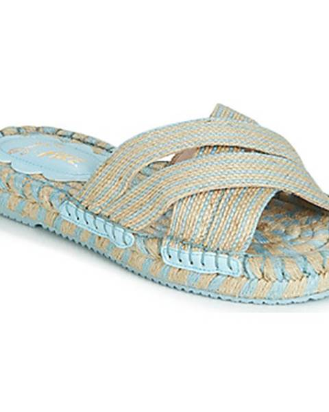 Béžové sandále Miss L'Fire
