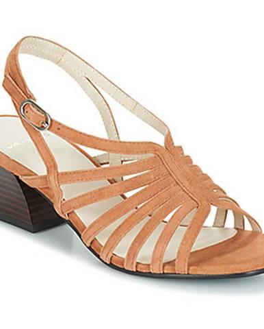 Béžové sandále Vagabond