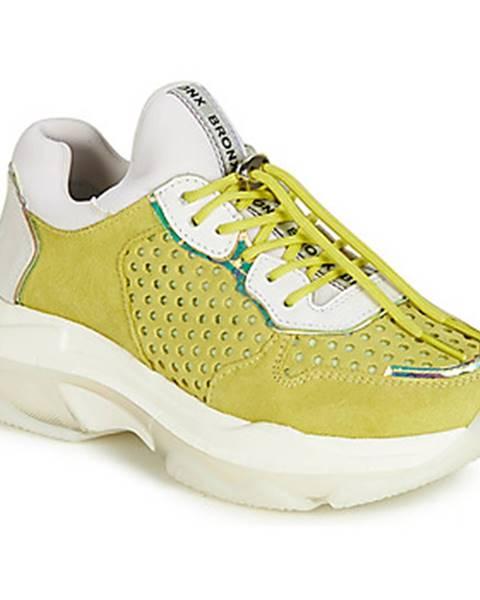Žlté tenisky Bronx