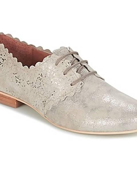 Strieborné topánky Myma