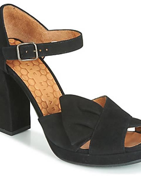 Čierne sandále Chie Mihara