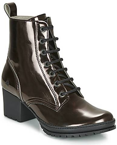 Strieborné topánky Art