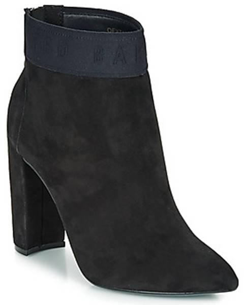 Čierne topánky Ted Baker
