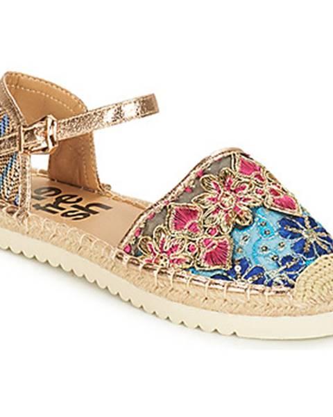 Viacfarebné sandále Refresh