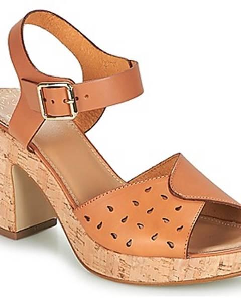 Hnedé sandále Bocage