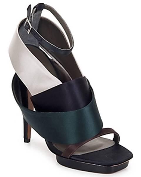 Viacfarebné sandále Kallisté