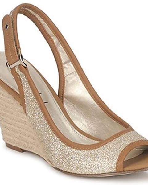 Zlaté sandále StylistClick