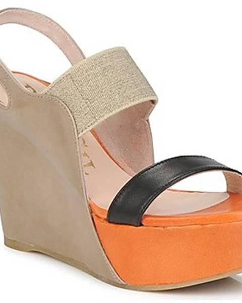 Viacfarebné sandále Paco Gil
