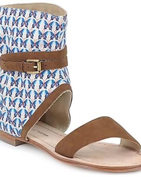 Hnedé sandále Paul   Joe Sister