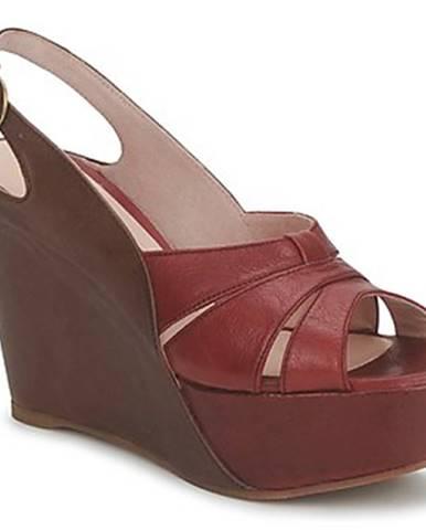Hnedé sandále Paco Gil