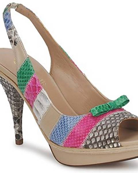Viacfarebné sandále Fericelli