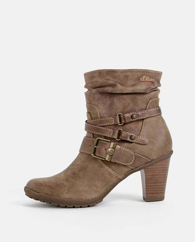 Svetlohnedé topánky S.Oliver