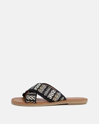 Čierne papuče TOMS