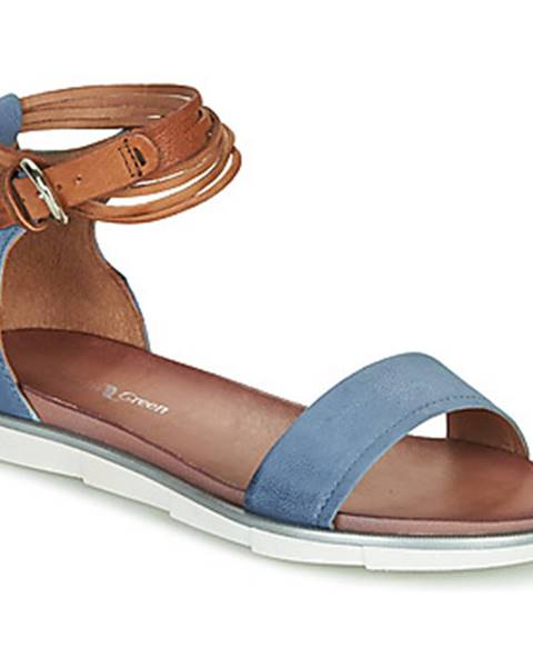 Modré sandále Dream in Green