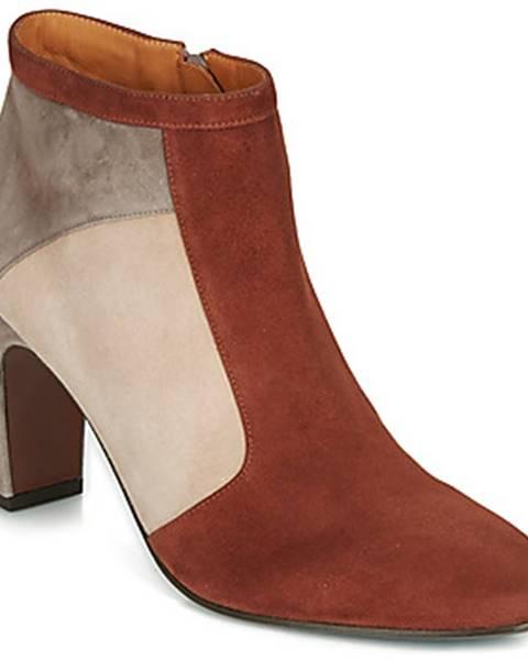 Červené topánky Chie Mihara