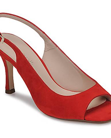 Červené sandále Fericelli