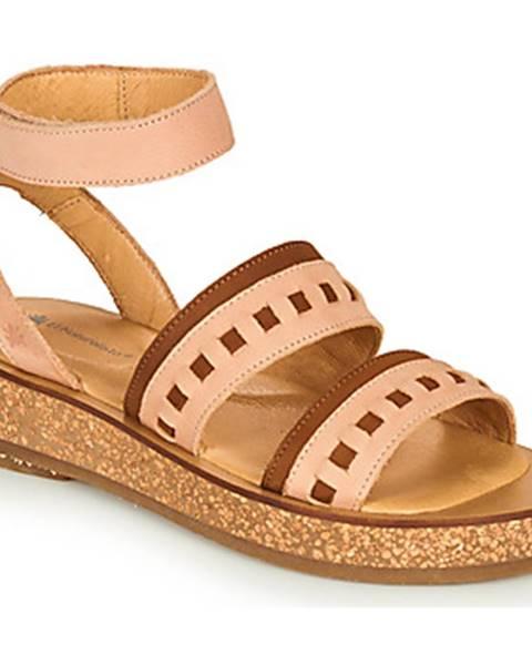 Ružové sandále El Naturalista