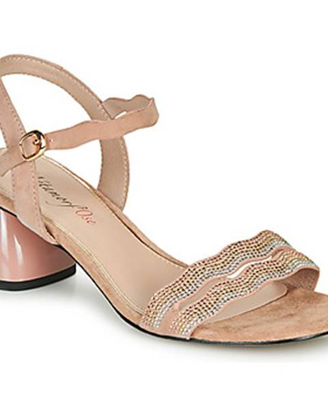 Zlaté sandále Metamorf'Ose