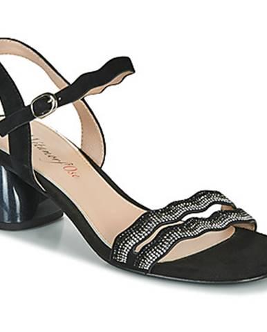 Čierne sandále Metamorf'Ose