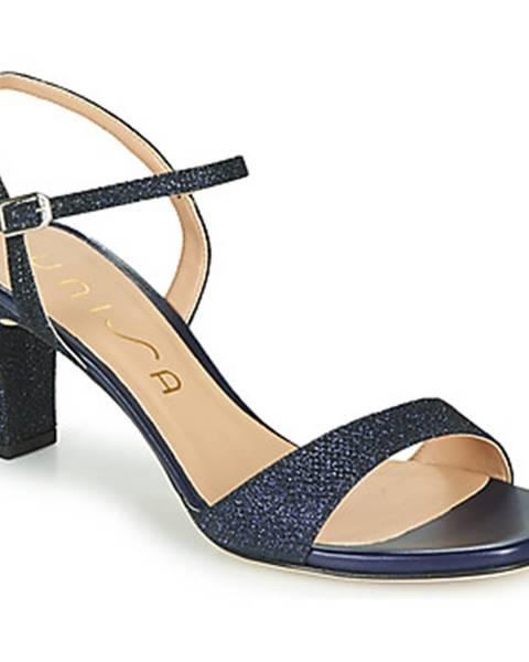 Modré sandále Unisa