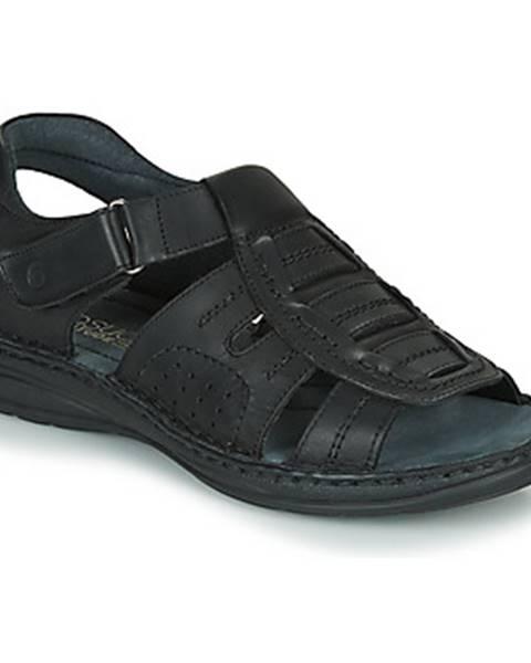 Čierne sandále Casual Attitude