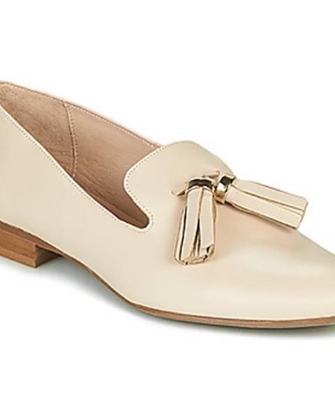 Béžové topánky Jonak